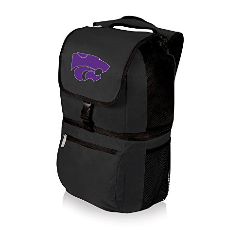 PICNIC TIME NCAA Kansas State Wildcats Zuma Insulated Cooler Backpack, Black
