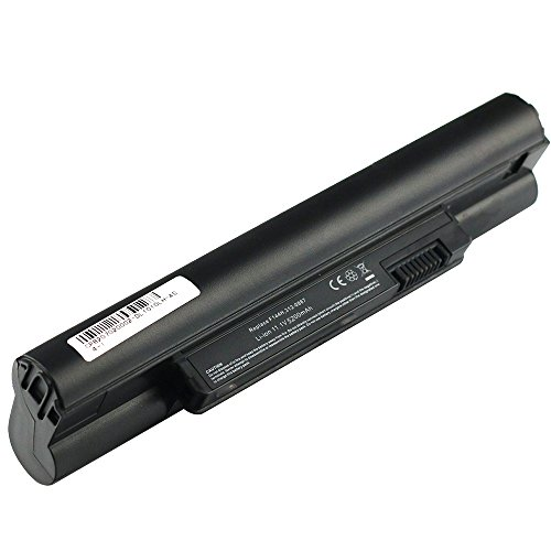 Bay Valley Parts Laptop Battery Notebook for Dell Inspiron Mini 10 10v 1010 1010N 1010V 1011 1011N 1011V Fits P/N:312-0130 312-0867 312-0907 312-0908 F143M F144M K916P 5200mAh 6Cells (Mini Dell Laptop Battery)