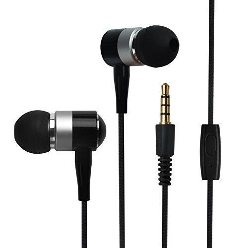 Price comparison product image Francois et Mimi in-Ear 3.5mm Aux Hi-Fidelity Earbuds CH-03,  Black