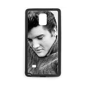 Elvis Cotizaciones D3D52W9ZK funda Samsung Galaxy Note 4 funda caso 0777O7 negro