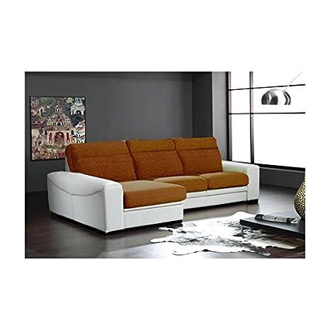 SHIITO Elegante sofá de Tres plazas con Chaise Longue a la ...