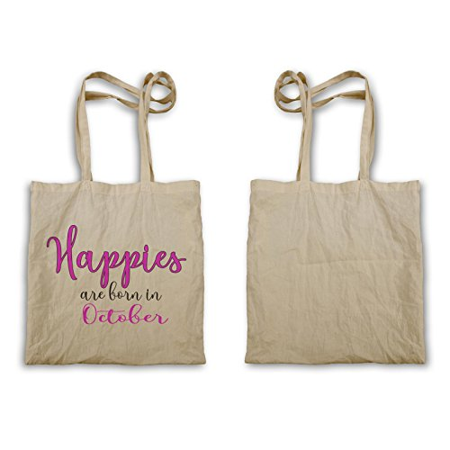 Le Happies Nascono In Ottobre Tote Bag D242r