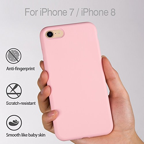 baby pink iphone 8 case