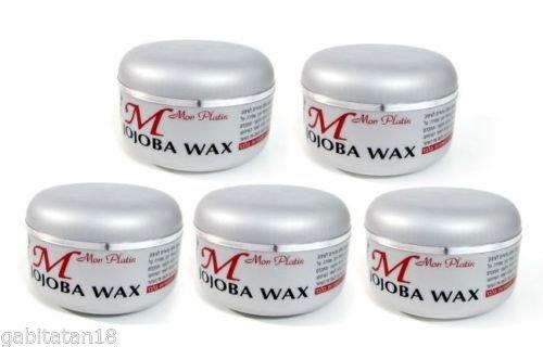 Mon Platin Wax Jojoba x 5, 150ml / 5.1oz FREE SHIPPING (Jojoba Wax)