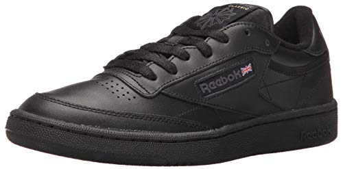 - Reebok Men's Club C 85 Walking Shoe, Black/Charcoal, 10.5 M US