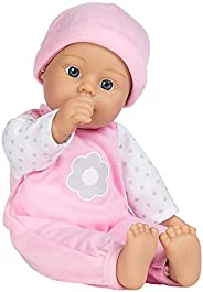 "Adora Sweet Baby Girl ""Blossom"", 100% Machine Washable, 11-inch Baby Doll With Baby Bottle For 1 Yea"