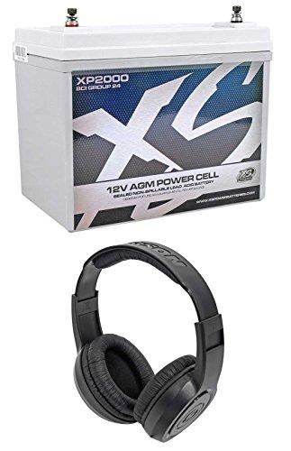Way Marine Speakers 52 2 (XS Power XP2000 2000 Watt Power Cell Car Audio Battery Power 4 Stereo+Headphones)
