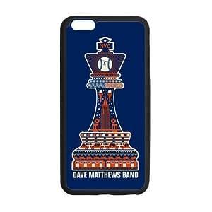the Case Shop- Dave Matthews Band iPhone 6 Plus 5.5 Inch TPU Rubber Hard Back Case Cover Skin , i6pxq-236 Kimberly Kurzendoerfer