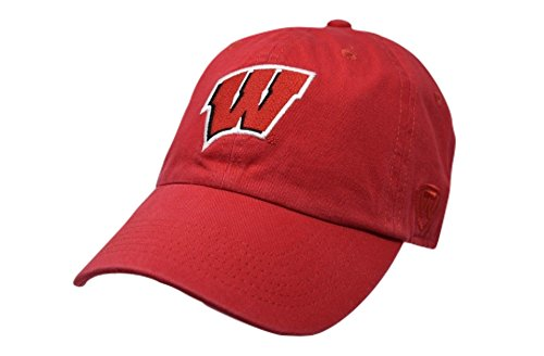 Elite Fan Shop Wisconsin Badgers Hat Cardinal - Cardinal Red
