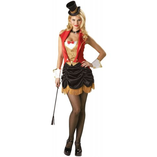 3 Ring Circus Costume (Three Ring Hottie Adult Costume - Small)