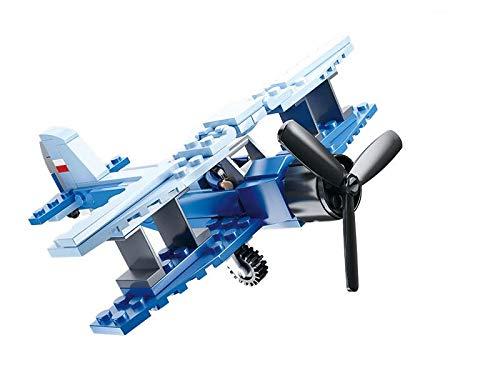 SlubanKids Creative Building Blocks Set | Imaginative Indoor Games Toys for Kids | Mega Army Aircraft Carrier, Mega Fighter Set and More (Jet Bomber)
