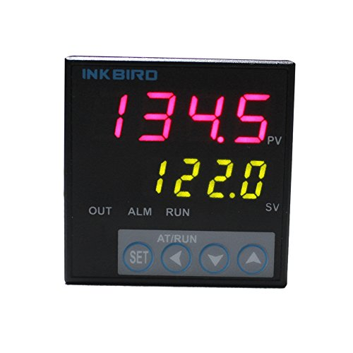 Inkbird F & C Display PID Temperature Controller Thermostat ITC-106RL, Relay Output, AC 12V - 24V