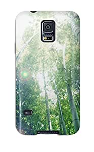 Tough Galaxy KQxrcIE2506lYlaB Case Cover/ Case For Galaxy S5(bamboo)