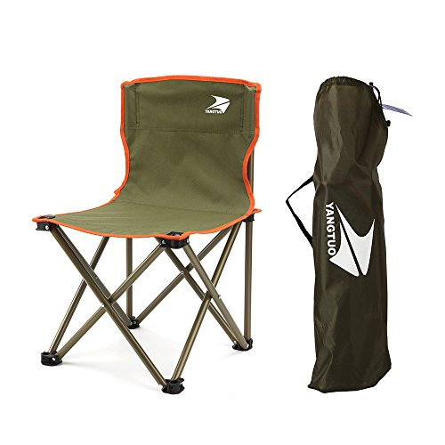 Yangtuo Armless Camping Folding Quad Chair With Carry Bag Small (Green):  Amazon.ca: Sports U0026 Outdoors