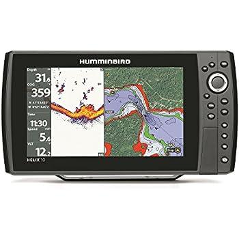 Humminbird 409960-1 HELIX 10 Sonar GPS Fishfinder