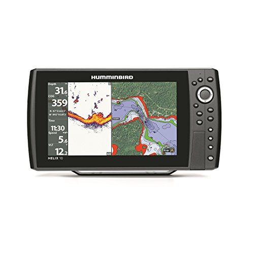 Humminbird 409960-1 HELIX 10 Sonar GPS Fishfinder Fish Finders And Other Electronics Humminbird