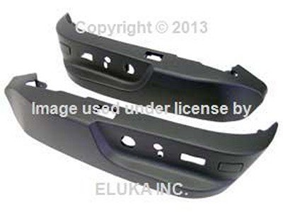 Black GENUINE BMW 740i 740iL 750iL 528i 540i M5 525i Seat Switch Covering Set