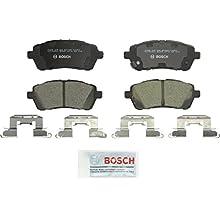 Bosch BC1454 QuietCast Premium Ceramic Disc Brake Pad Set For 2011-2017 Ford Fiesta; Front