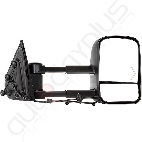 Scitoo Manual w Arrow Signal Towing Mirrors For 2014 16