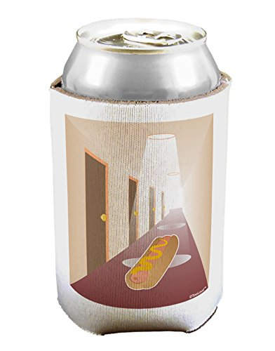 TooLoud Hotdog in a Hallway Can/Bottle Insulator Cooler - 2 Pack
