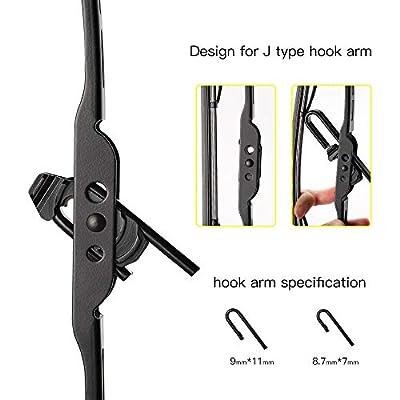 Wiper Blades 22, Premium All-Season Windshield Wiper Blades J Hook/U Hook (22