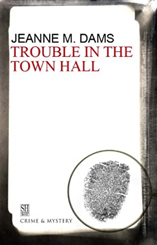 book cover of Trouble in the Town Hall