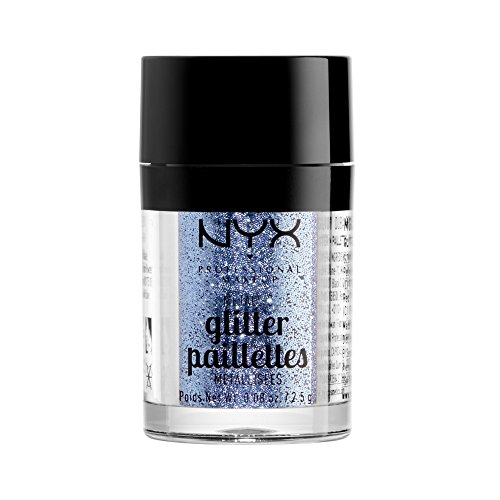 NYX PROFESSIONAL MAKEUP Metallic Glitter, Darkside, 0.08 Ounce