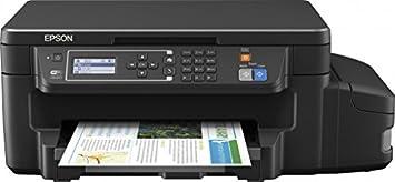 Epson C11CF73401CA EcoTank ET-3600 Multi-Function Printer with Refillable  Ink Tank - Black