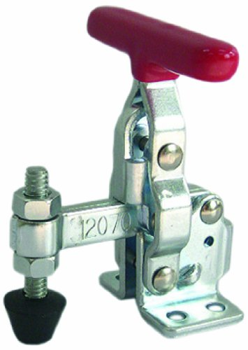 MSI MSI-PRO, MSI12070, Vertical T-Handle quick release toggle clamp with a maximum holding capacity of 200 lbs