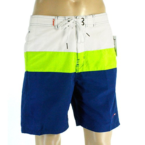 Lime Green Leisure Suit (Just Speed Men's Swim trunks Board Shorts- Plus Sizes 3XL, 4XL, 5XL with Pockets and Full Mesh Lining, Quick Dry to Provide Improve Performance (3XL, Navy-Lime))