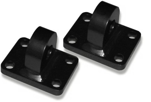 XD 3 TON BUMPER SHACKLE MOUNTS - MACHINED (PAIR)