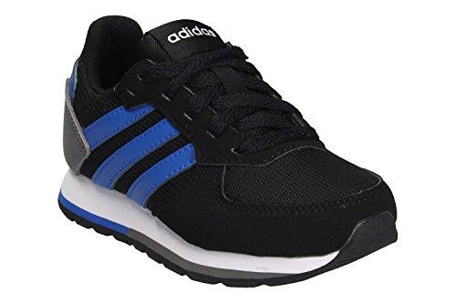 Adidas - 8K K - DB1855 - El Color: Negros-Azul - Talla: 5.5