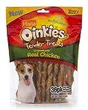 Hartz Oinkies Tender Treats Natural Smoked Chicken Twist Dog Treat Chews - 36 Pack