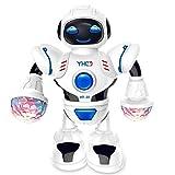 Kindsells Toddler Multifunctional LED Smart Robot Dance Music Kids Education Toys Robotics