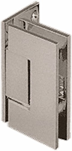 C.R. LAURENCE JRG044BN CRL Brushed Nickel Junior Geneva 044 Series Wall Mount Offset Back Plate Hinge