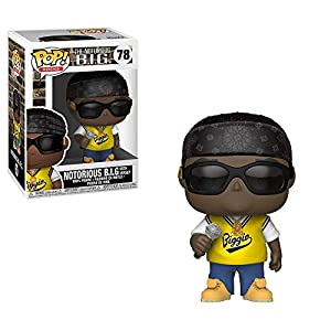 Funko Pop Rocks: Music - Notorious B.I.G. in Jersey Collectible Figure, Multicolor 5