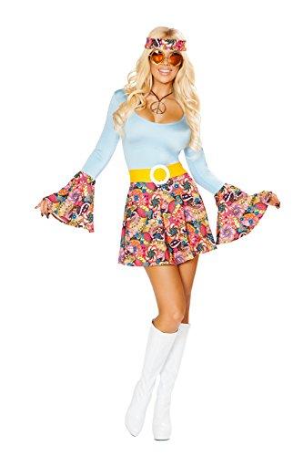 Sexy Stylish Hippie Costume