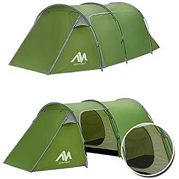 Amazon Com Giantex 6 8 Person Man Waterproof Camp 2 1