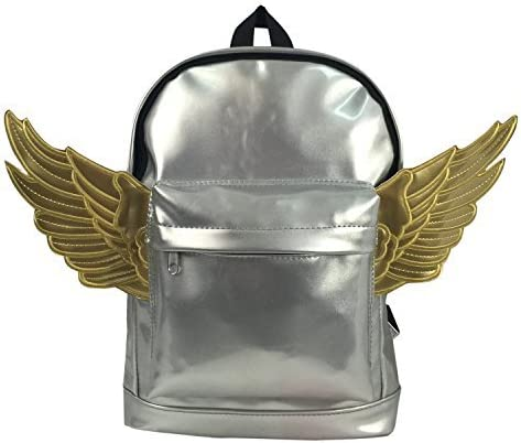 Kids Backpack Fashion Woman Mini Backpack Lady Purse Toddler Daypack Angel Wing