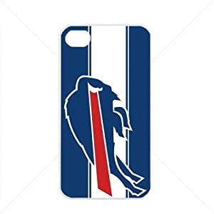 NFL American football Buffalo Bills Fans Case For Iphone 5C Cover PC Soft (White)