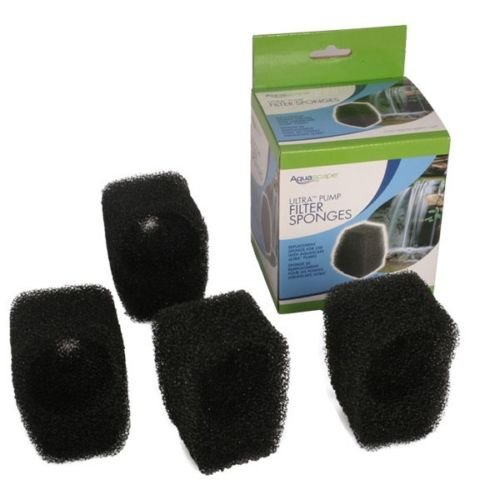 (Aquascape 91035 Replacement Filter Sponge Kit (4) for Ultra 800 GPH Water Pump)