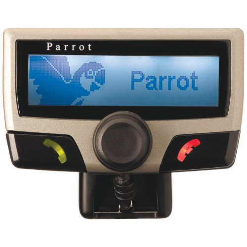 1 - Bluetooth(R) Hands-Free Car Kit with LCD, Bluetooth(R)-enabled hands-free car kit, Dashboard-positioned LCD screen, CK3100/PF150035AC by Parrot