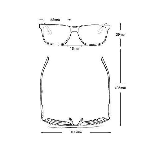 Gafas De Viajar Playa Gafas para Polarizados Moda Vidrios YQQ Color De Deporte Anti Hombre Gafas Sol Gafas 1 De Conducción De Reflejante 2 Espejo De n48FF1x5wq