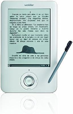 Wolder D01EB0027 - Lector de eBooks de 6