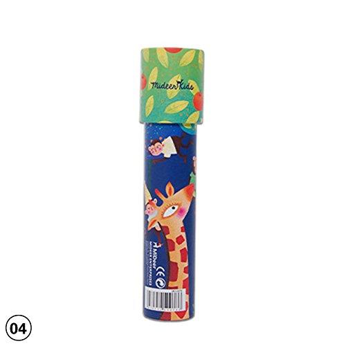 WXLAA Colorful Prism Kaleidoscope Classic Toy Fun Children's Educational Toys Giraffe