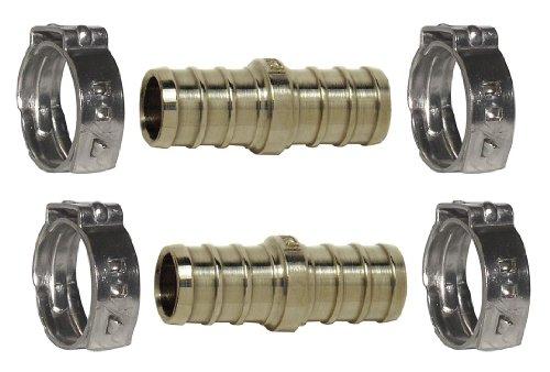 Repair Kit w/Cinch Clamps, PEX, 5/8