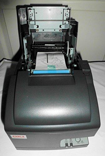 OKI Data OKIpos 441J Serial 9-Pin Dot Matrix Printer, Serial Port, Charcoal by OKIPOS (Image #2)