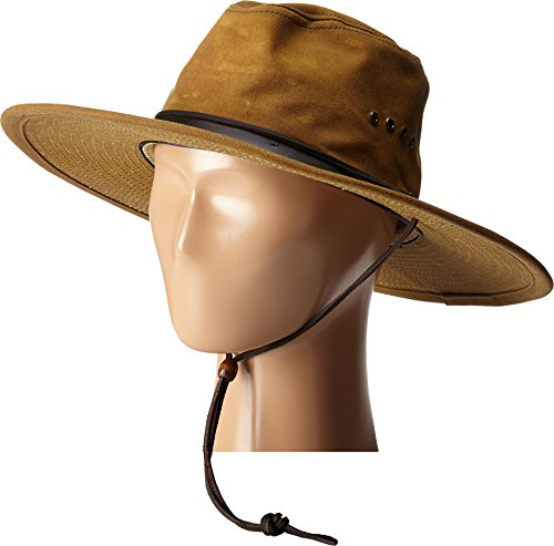 (Filson 315 Tin Cloth Bush Hat - Tan - X-Large)