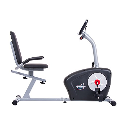 Body Champ Magnetic Recumbent Exercise Bike with Computer Program, Pulse and Resistance / Reclined Seat Back Support by Body Champ (Image #2)