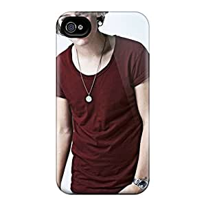 Iphone 4/4s Cases Covers - Slim Fit Protector Shock Absorbent Cases (one Direction Harry Styles)